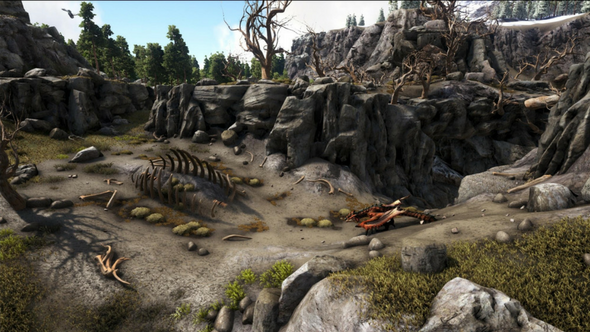 Ark: Survival Evolved's first sponsored mod is out now