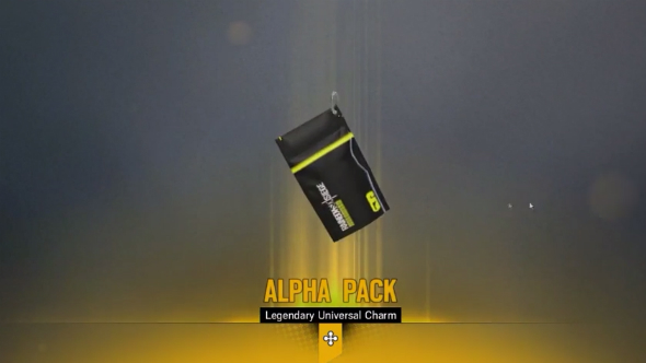 Rainbow six siege alpha pack charm