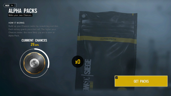 Rainbow six siege alpha pack