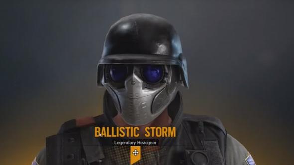 Rainbow six siege alpha pack ballistic storm
