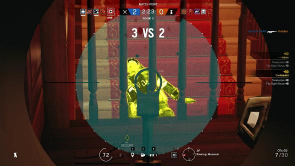 Rainbow six siege glaz op