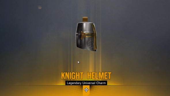 Rainbow six siege alpha pack knight helmet