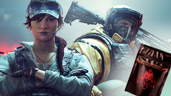 rainbow six siege outbreak packs items elite uniform weapon skins