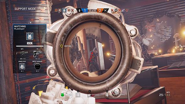 rainbow six siege recoil system
