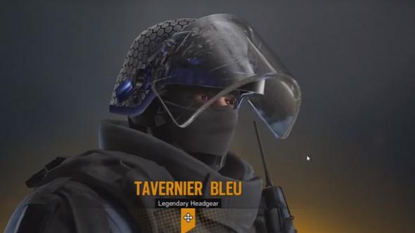 Rainbow six siege alpha pack tavernier bleu