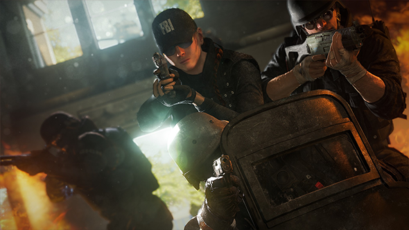 Rainbow Six Siege team killing