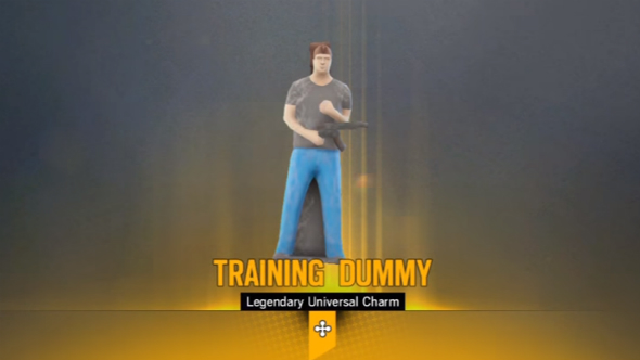 Rainbow six siege alpha pack training dummy