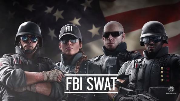 Ubisoft reveals Rainbow Six Siege's FBI SWAT team