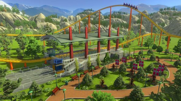 Rollercoaster Tycoon World draws lots of Cities: Skylines comparisons at PAX