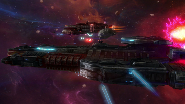 Rebel Galaxy is an outlaw space adventure with big ol' capital ships from ex-Torchlight devs
