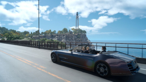 Road trip time: Final Fantasy 15's Regalia is coming to Forza Horizon 3