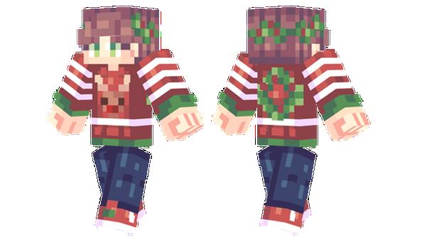 Christmas Minecraft Skin Girl.Christmas Minecraft Skins Christmas Girl Minecraft Skin