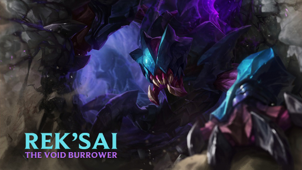 Rek'Sai is League of Legends' newest champion; she's underground, so you've probably never heard of her