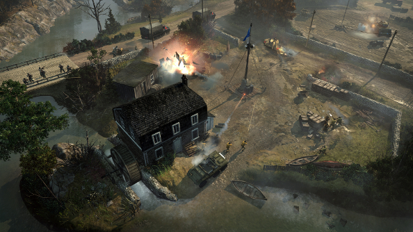How Company Of Heroes 2 Became Steam S Biggest Rts Pcgamesn