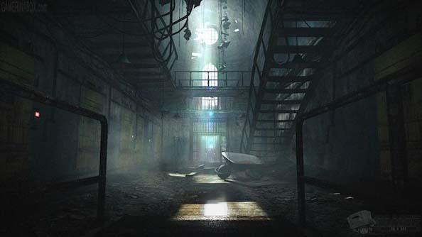 An early screenshot from Resident Evil: Revelations 2. Dank.