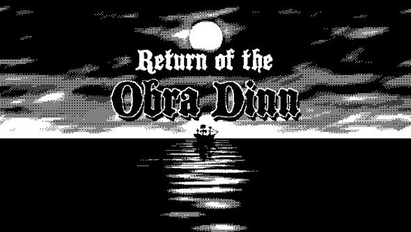Return of the Obra Dinn Lucas Pope