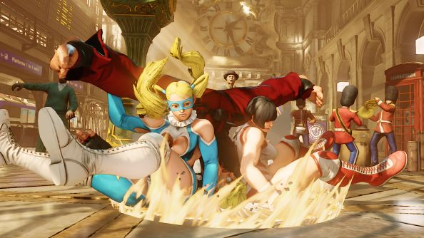 Street Fighter V's latest character is wrestler Rainbow Mika and she can use a Stone Cold Stunner