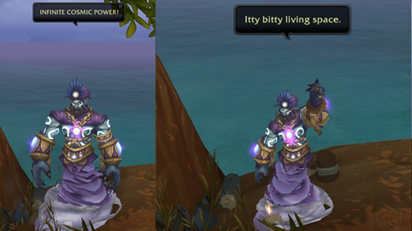 Robin Williams tribute spotted in World of Warcraft: Warlords of ...