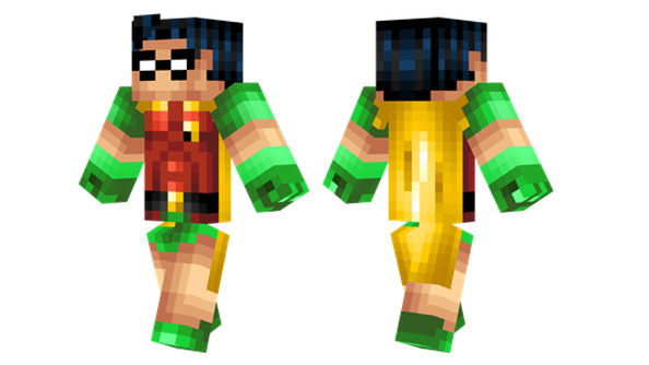 best minecraft skins robin