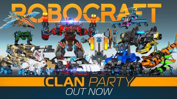 Robocraft clan party