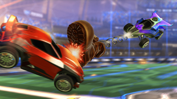 Rocket League gears up for eSports with crate-and-key Rumble update