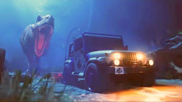 Rocket League Jurassic Park DLC