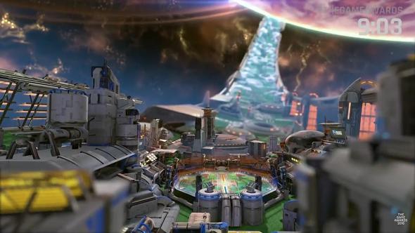 Rocket League Starbase Arc