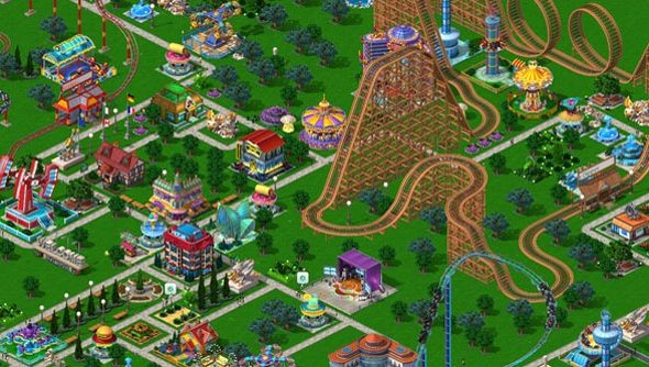 Rollercoaster Tycoon 4 will release on mobile before PC - a first for the venerable series.