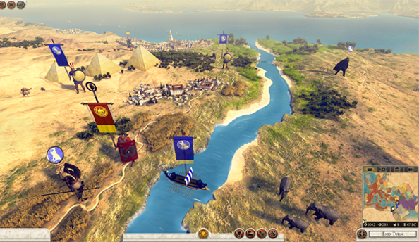 See the Total War: Rome 2 campaign map in its entirety