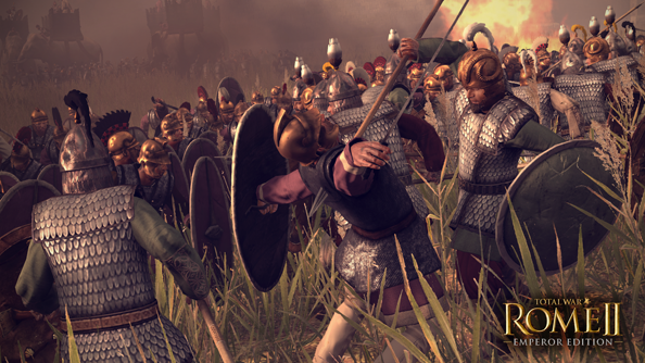 Total War: Rome II, resplendent in its Emperor Edition.