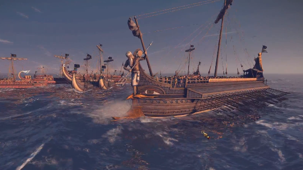 Total War: Rome 2 naval gameplay footage is a bashing good time