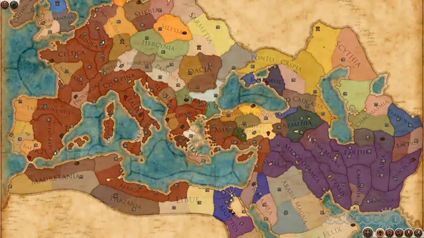 Rome 2 Map See the Total War: Rome 2 campaign map in its entirety | PCGamesN Rome 2 Map