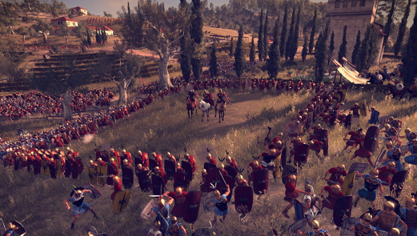 Total War: Rome II Preview: saving Capua