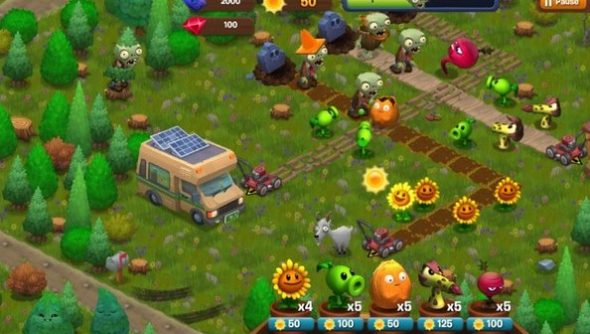 Plants Vs Zombies 2: Garden Warfare To Blossom In The Summer; Adventures  Spinoff In Facebook Beta. Rsz_1plants_vs_zombies_adventures