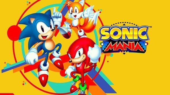 sonic mania opening animation