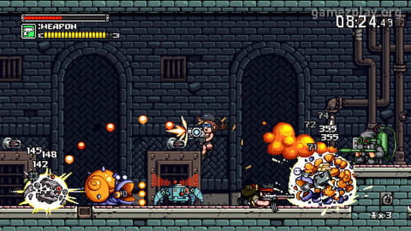 Mercenary Kings is bouncy, bloody, and coming to Steam's Early Access programme