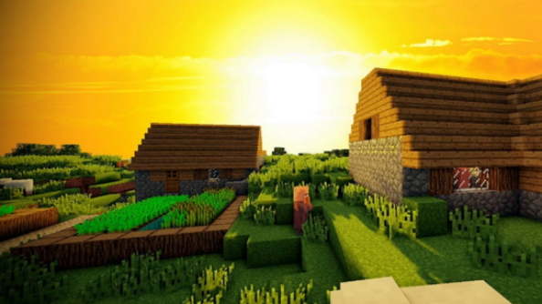 minecraft shaders 12 of the best minecraft graphics mods pcgamesn