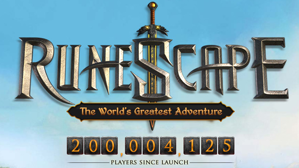 Runescape hits 200 million registered players