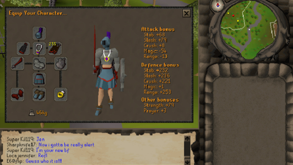Runescape returning player