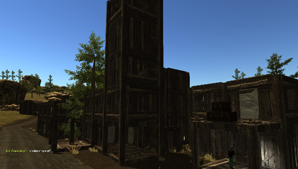Structures built in Rust are not always bombed to bits by bandits. Just often.