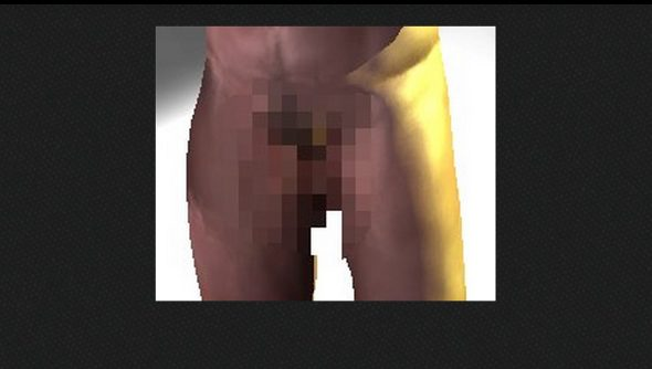 Rust's dongs get censored