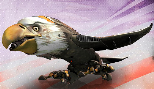 Saints Row 4 Commander in Chief Edition retrofits Air Force One with talons and a beak