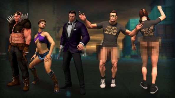 Saints Row IV Thank You Pack throws free outfits at you like Gatsby in that mansion scene