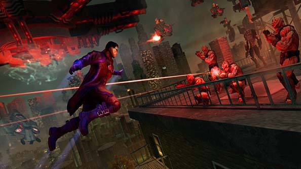 Saints Row IV: a tonally complex act to follow.