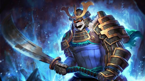 Frozen Yoroi Warrior by EasRay