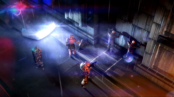 Satellite Reign footage showcases lovely cyberpunk dystopia