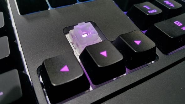 Creative Sound BlasterX Vanguard mechanical switches