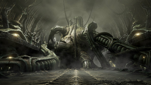 Scorn is a H.R. Giger-inspired hellscape filled with fleshy horrors