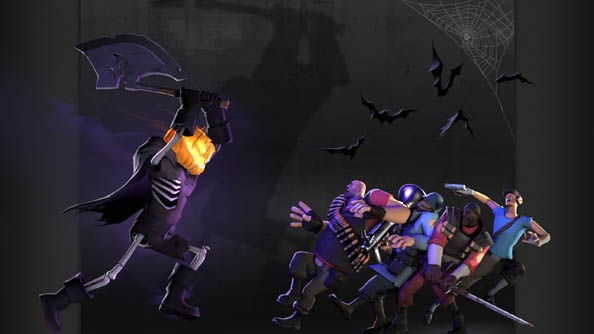 Team Fortress 2 now lets players treat themselves to an early Halloween