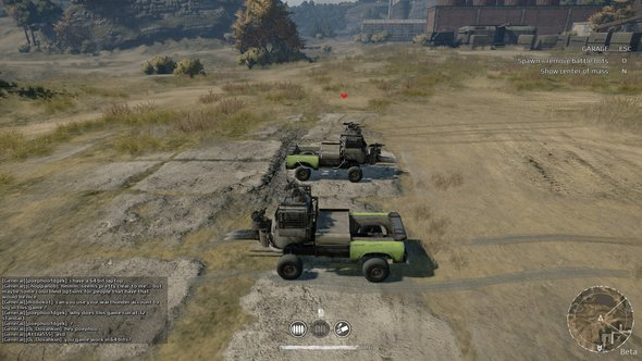 Crossout Vehicle Testing